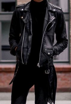 Genuine Black Leather Jacket Men – Lambskin Motorcycle Mens Leather Jackets & Coat - All About Best Leather Jackets, Leather Jacket Outfits, Men's Leather Jacket, Leather Men, Jacket Men, Lambskin Leather, Vintage Leather, Black Leather, Leather Coats