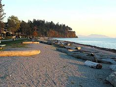 Beautiful Crescent Beach in Surrey.not White Rock! Things To Do At Home, Vancouver Island, Best Day Ever, Surrey, Life Goals, Oceans, British Columbia, Great Places, Beaches