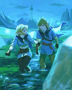 Ben Drowned, Link Botw, Image Zelda, Botw Zelda, Hyrule Warriors, Gifs, Legend Of Zelda Breath, Link Zelda, Breath Of The Wild