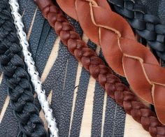 Making Braided Leather : 7 Steps (with Pictures) - Instructables Leather Weaving, Leather Fringe, Leather Handle, Leather Cord, Leather And Lace, Custom Leather, Diy Leather Bracelet, Leather Jewelry, Leather Purses