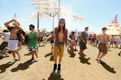 Coachella Weekend Day 1 Photos: Shirtless Dudes, Sombreros, and A Giant Snail: LAist Coachella Weekend 2, Coachella 2013, Giant Snail, Sumo, Wrestling, Sports, Photos, Sombreros, Lucha Libre