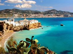 Officially known as Eivissa, Ibiza is one of Balearic Islands with a length of 42 km by highway. The three major cities in Ibiza are Ibiza Town, San Antonio. Places To Travel, Places To See, Travel Destinations, Holiday Destinations, Tourist Places, Dream Vacations, Vacation Spots, Vacation List, Family Vacations