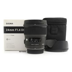 The #Sigma 24mm f1.4 DG HSM Art Lens (#Nikon Mount) is a professional-grade wide-angle #Lens, perfect for Landscape and #PortraitPhotography. Very, very sharp Lens! Nikon, Art Lens, Used Cameras, Camera Equipment, Wide Angle, F1, Binoculars, Portrait Photography, Landscape