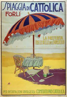 Spiaggia di Cattolica - (Antonio Maria Nardi) -