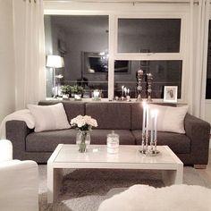 #livingroom #sofa #brown #white