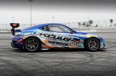 2013 GReddy X Scion Racing FRS Drift car by jonsibal.deviantart.com on @deviantART