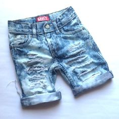 9fefb77400 Jax the Ripper Custom Made to Order Distressed Denim Cutoff Shorts baby  toddler kids 0-8 yrs