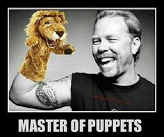 James Hetfield - Master of Puppets