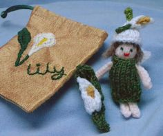 Lily Fairy and Embroidered Bag