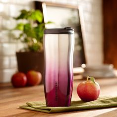 Stainless Steel Gradient Tumbler - Purple, 12 fl oz. $16.95 at StarbucksStore.com
