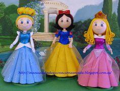 FOFUCHAS. Manualidades y Creaciones Maite: fofuchas Disney
