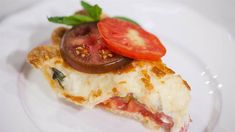 Elizabeth Heiskell shares a tomato pie recipe that's simple thanks to store-bought crust. It's the perfect way to spotlight juicy tomatoes!
