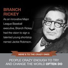 Branch Rickey | www.SlenderSuzie.com