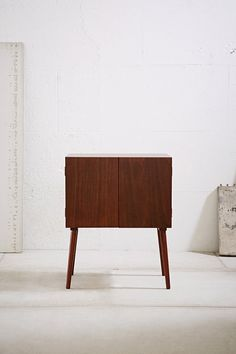 Assembly Home Midcentury Vinyl Record Media Console - Urban Outfitters