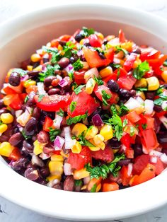 Cobb Salad, Salsa, Food And Drink, Ethnic Recipes, Food, Red Peppers, Salsa Music