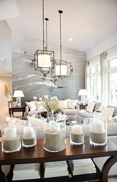 Family room. Use a light turquoise paint instead of the wall picture