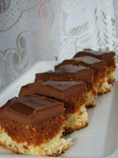 Cristina's world: Prajitura cu crema caramel de cocos si glazura de ciocolata