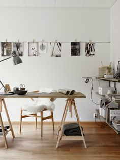 5 flexible home office solutions. beautiful workspace