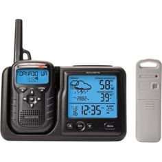 Acu-Rite AcuRite Digital Weather Station Plus Portable Weather Alert Noaa Radi