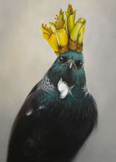 Great range of wall art for sale. Featuring many art prints by top NZ artists, including Rita Angus and more. Tui Bird, Painting Prints, Art Prints, Bird Paintings, Maori Designs, New Zealand Art, Nz Art, Maori Art, Kiwiana