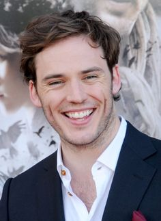 Sam Clafin!!! Our OFFICIAL Finnick! F*€# all you haters- I think he will be wonderful. He showed a lot of great emotion in 'Pirates' and mmmmmm he does have that rockin body ;)
