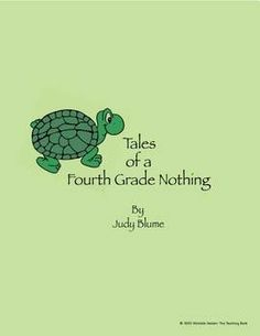 Tales of a Fourth Grade Nothing Novel Unit ~ Common Core Standards