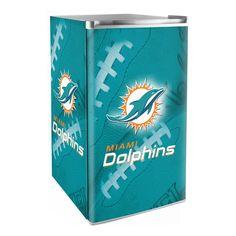 Miami Dolphins 3.2 Cubic Feet Mini-Fridge