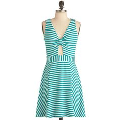 Spearmint for You Dress ($50) ❤ liked on Polyvore