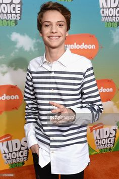 Actor Jace Norman attends Nickelodeon's 2016 Kids' Choice Awards at The Forum on March 2016 in Inglewood, California. Jace Norman Age, Jason Norman, Norman Love, Henry Danger Jace Norman, Kids Choice Award, Choice Awards, Nickelodeon Awards, Jace Norman Snapchat, Boyfriends
