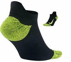 Nike Unisex Elite Wool Cushioned No Show Black/Yellow Socks S Running Socks, Nike Running, Yellow Socks, Soccer Socks, Nike Models, Athletic Socks, No Show Socks, Black N Yellow, Snug Fit