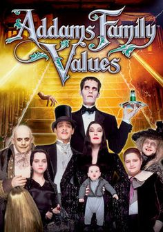 I think the first Addams Family movie was better than Addams Family Values, but there are still some great gags.