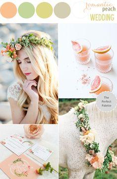 Color Story | Romantic Peach Wedding