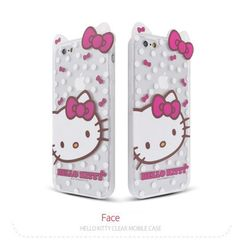 GALAXY NOTE 3 HELLO KITTY ADORABLE CLEAR INMOLD CASE