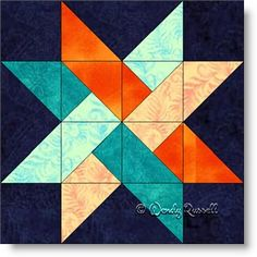 Two sample quilt layouts featuring the WOVEN STAR quilt block in different on point settings of the quilt blocks. Quilt Square Patterns, Barn Quilt Patterns, Pattern Blocks, Square Quilt, Quilting Patterns, Star Quilt Blocks, Star Quilts, Easy Quilts, Barn Quilt Designs