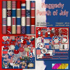 Raggedy 4th of July kit, 20% off, & store freebie at http://ditzbitz.weebly.com/store/p950/Raggedy_4th_of_July.html. Free alpha with purchase of kit. Join Ditz Bitz Freebies Group at https://facebook.com/groups/ditzbitzfreebies/ to get the exclusive & the coupon code for 40% off the kit.