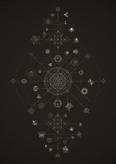 Cosmos | Lenguajes y Dinámicas on Behance / Sacred Geometry <3                                                                                                                                                      More