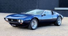 De Tomaso Mangusta/Pantera/Longchamp - De Tomaso started life using English Ford four cylinders and later switched to American made small blocks