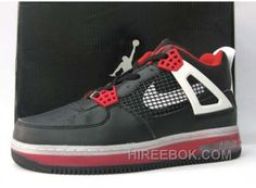 los angeles 8ff6d 68baa Air Jordan Force Fusion 4 Black Varsity Red White Achat Pas Cher, Price    71.00 - Reebok Shoes,Reebok Classic,Reebok Mens Shoes