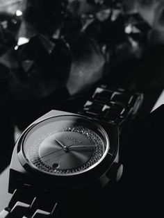 Such a sexy watch: The All Black and Black Crystal Collection, New From Nixon
