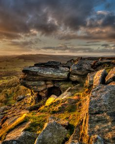 Curbar Edge, Peak District National Park - which appears in Mr. Fitzwilliam Darcy: The Last Man in the World.