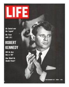Premium Photographic Print: Robert Kennedy, Will He Dare Run in 68, November 18, 1966 by Bill Eppridge : 14x11in