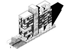 Fidalga architecture: Residential Building project