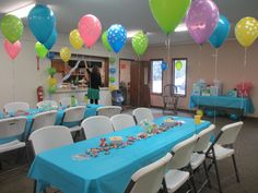 Ready To Pop Baby Shower Party Game: Attach A Balloon To Each Guestu0027s Chair.
