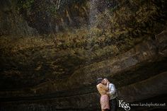 Edwin and Raquel's Engagement Portraits at Hamilton Pool Preserve and The Texas Capitol | Austin and Dallas Wedding Photographers