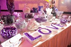 Candy Buffet Complete Set by SaveTheDateNow on Etsy, $4.00