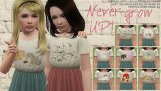 Never Grow Up Dress | simsinspring »