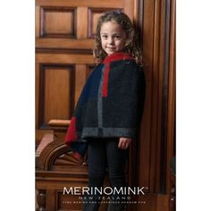 Merinomink Petite Empress Poncho For Kids Kids Poncho, Fur Clothing, Merino Wool, High Neck Dress, Skin Care, Silk, Clothes, Shopping, Collection