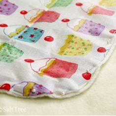 A mattress pad for little ones made with a plastic table cloth and $store blanket!