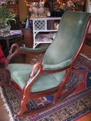 have this exact goose neck rocking chair that I bought at an Action ...