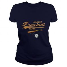 Proud Baseball Mom Great Gift For Any Mom Dad Mother Father;